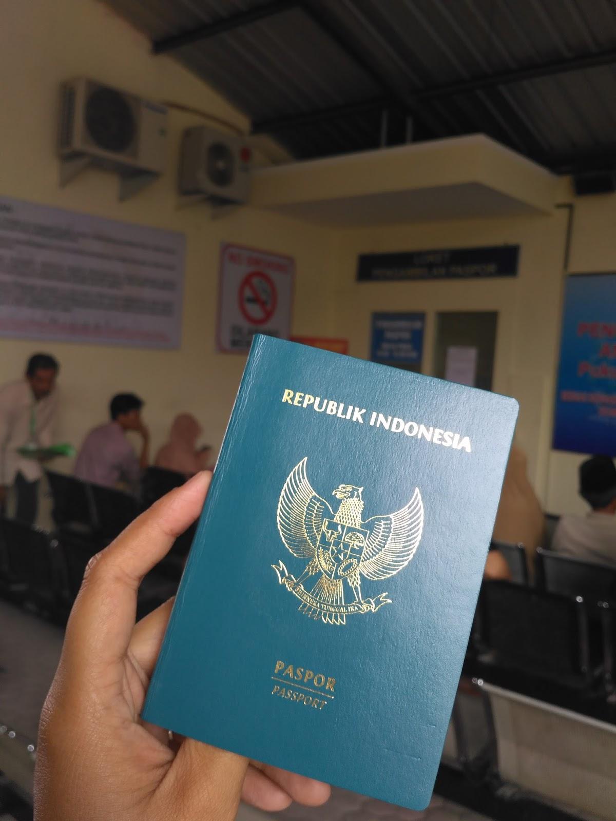 1001 Cara Membuat Paspor Republik Indonesia