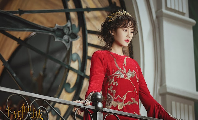 Li Yi Tong in 2016 Chinese fantasy drama Demon Girl