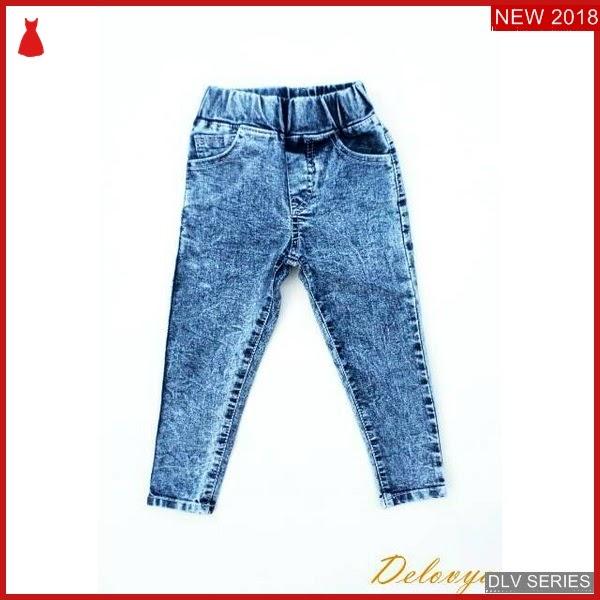DLV18L39 Long Jeans Anak Stretch Celana Panjang Balita Murah BMG