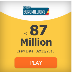 #EuroMillions 87 million and rain of millions: odds, clubs