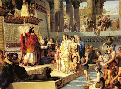 Daud menjadi Raja