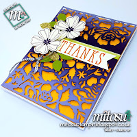 Stampin' Up! Detailed Floral SU Card Idea order craft products from Mitosu Crafts UK Online Shop
