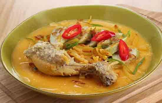 Opor ayam, resep opor ayam, cara membuat opor ayam, cara memasak opr ayam, bumbu opor ayam