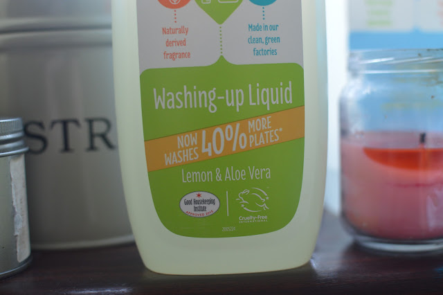 Ecover Washing Up Liquid Be Green and Clean