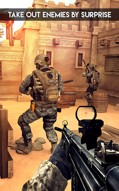 Super Army Frontline Mission MOD APK