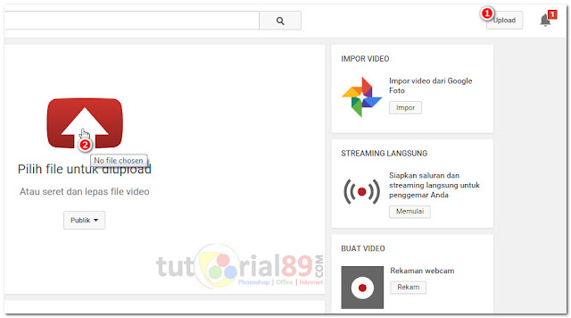 Cara membuat video youtube dari slide powerPoint
