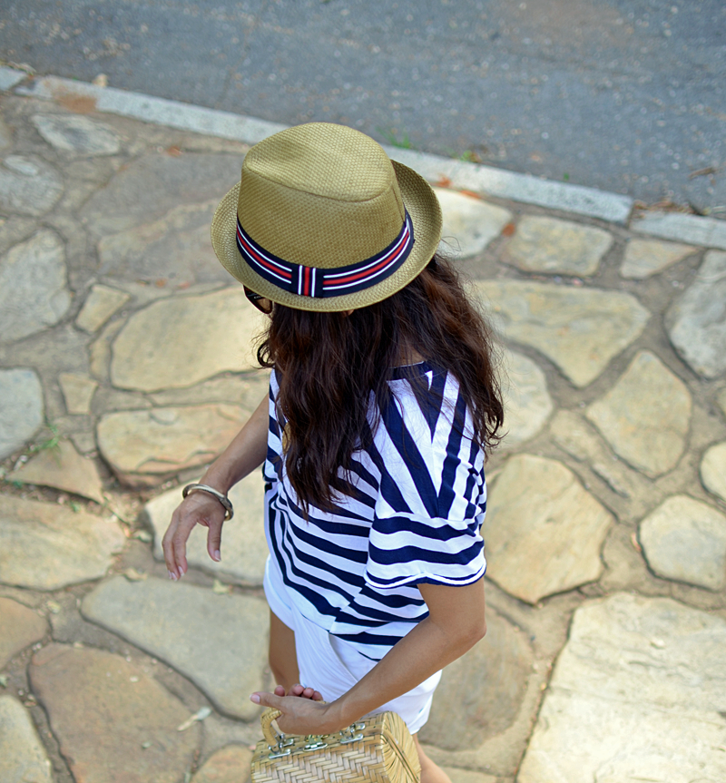 Nautical look street style