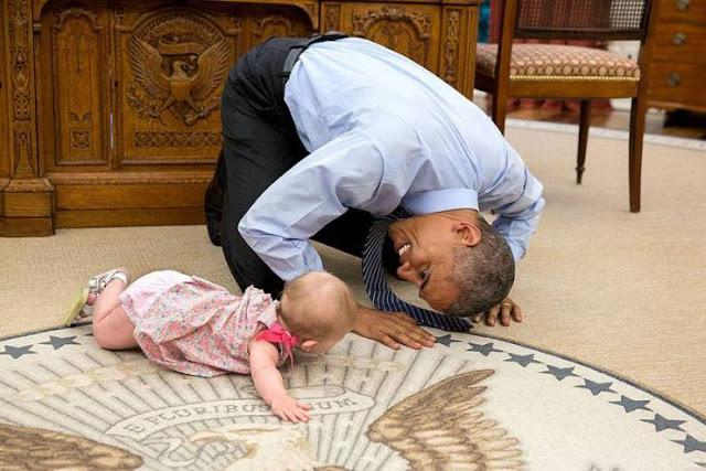 الوجه الآخر للرئيس الأمريكي باراك أوباما أكثر من 10 صور طريفة لأوباما