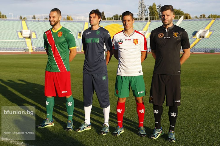 5f80e7c31 The Bulgarian national football team and its shirt supplier Joma today  released the new Bulgaria 2018 World Cup qualifiers jerseys. The new  Bulgaria 2016-17 ...