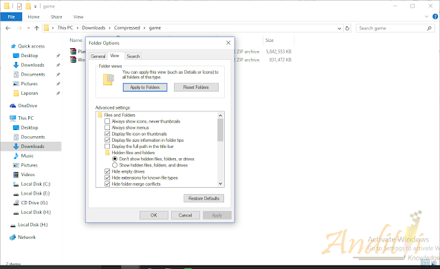 Cara Membasmi Virus Shortcut-anditii.web.id