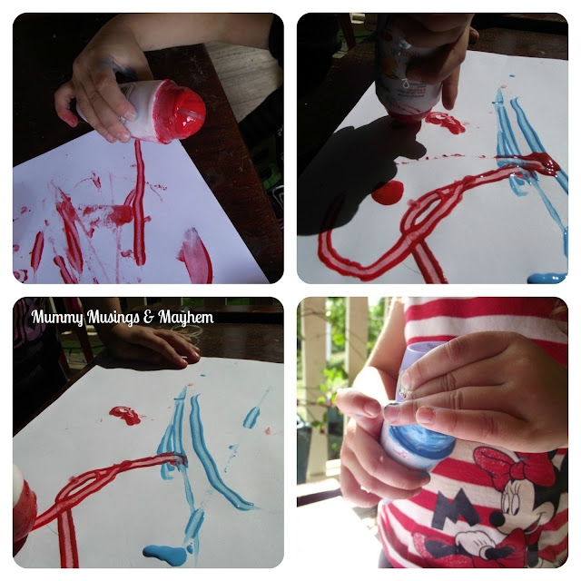 Recycled fine motor fun