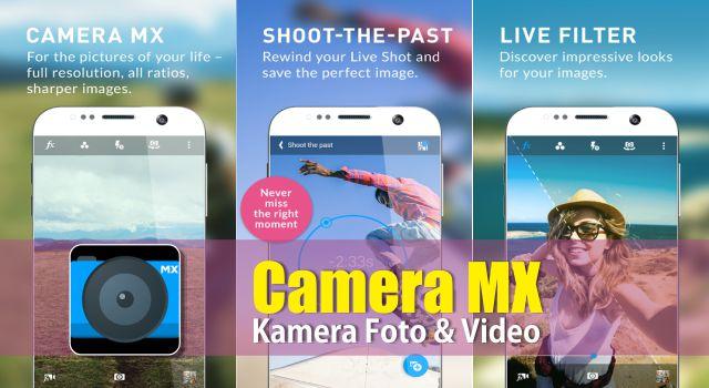Download Camera MX Pro Apk Unlocked Features