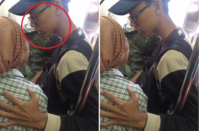 Nenek Ini Diajak Ngobrol Oleh Pemuda di Kereta, Saat Hendak Turun Hal Mengejutkan Pun Terjadi !!