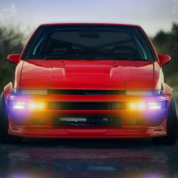 AE86 Lights Audio Visualizer HDR Wallpaper Engine ...