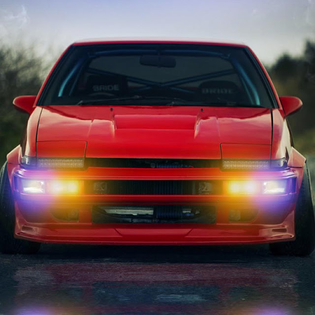 AE86 Lights Audio Visualizer HDR Wallpaper Engine