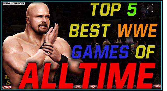 TOP 5 WWE GAMES