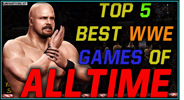 TOP 5 WWE GAMES
