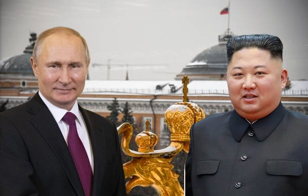 North Korea's Leader Kim Jong-un Arrives In Russia