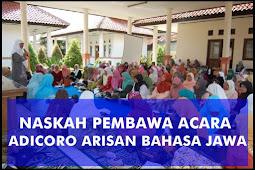 Kumpulan Contoh Pembawa Acara Arisan Keluarga Bahasa Jawa