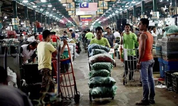 Tiada KWSP punca warga tempatan tidak minat kerja di pasar