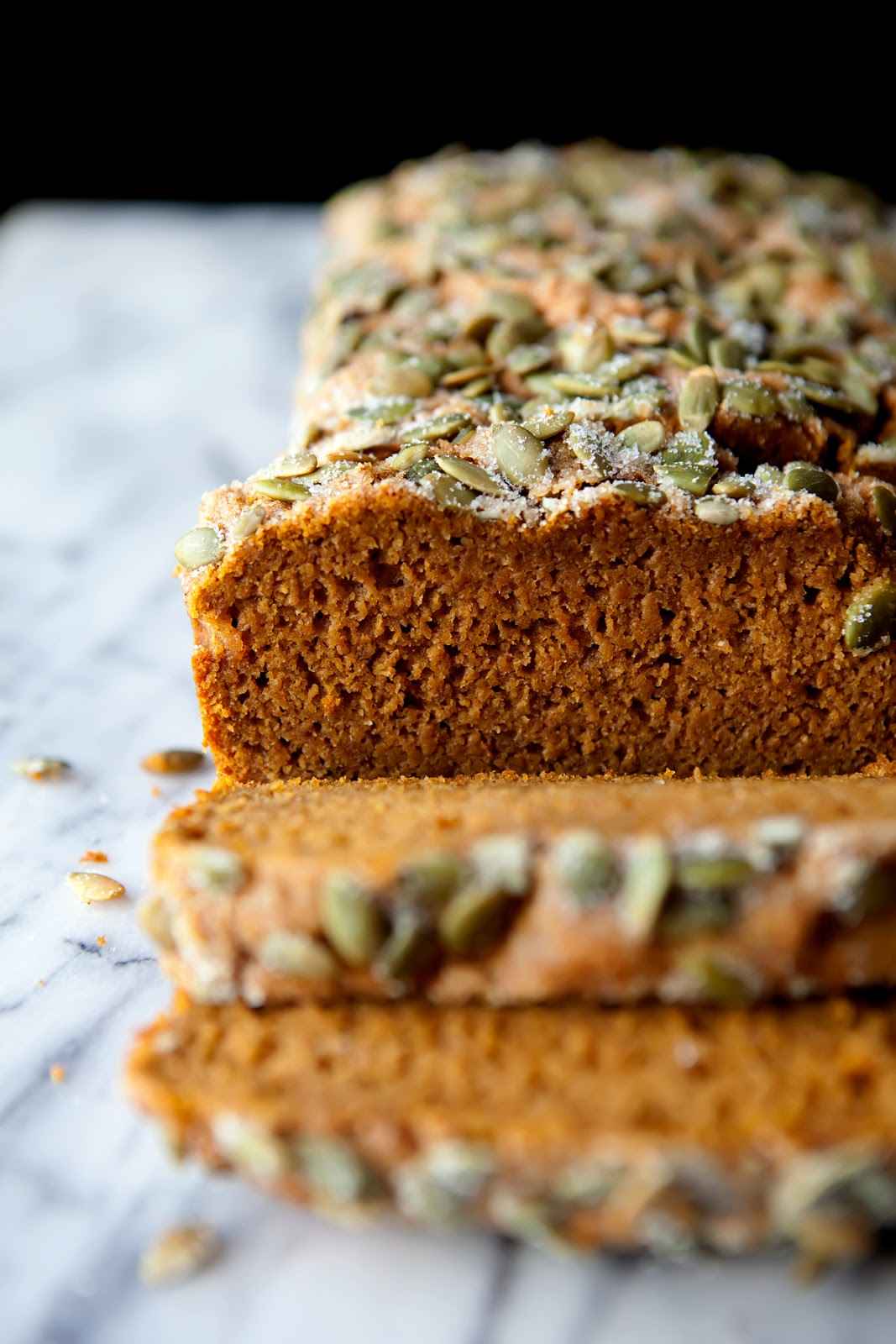 The Flour Sack Spiced Honey Pumpkin Bread