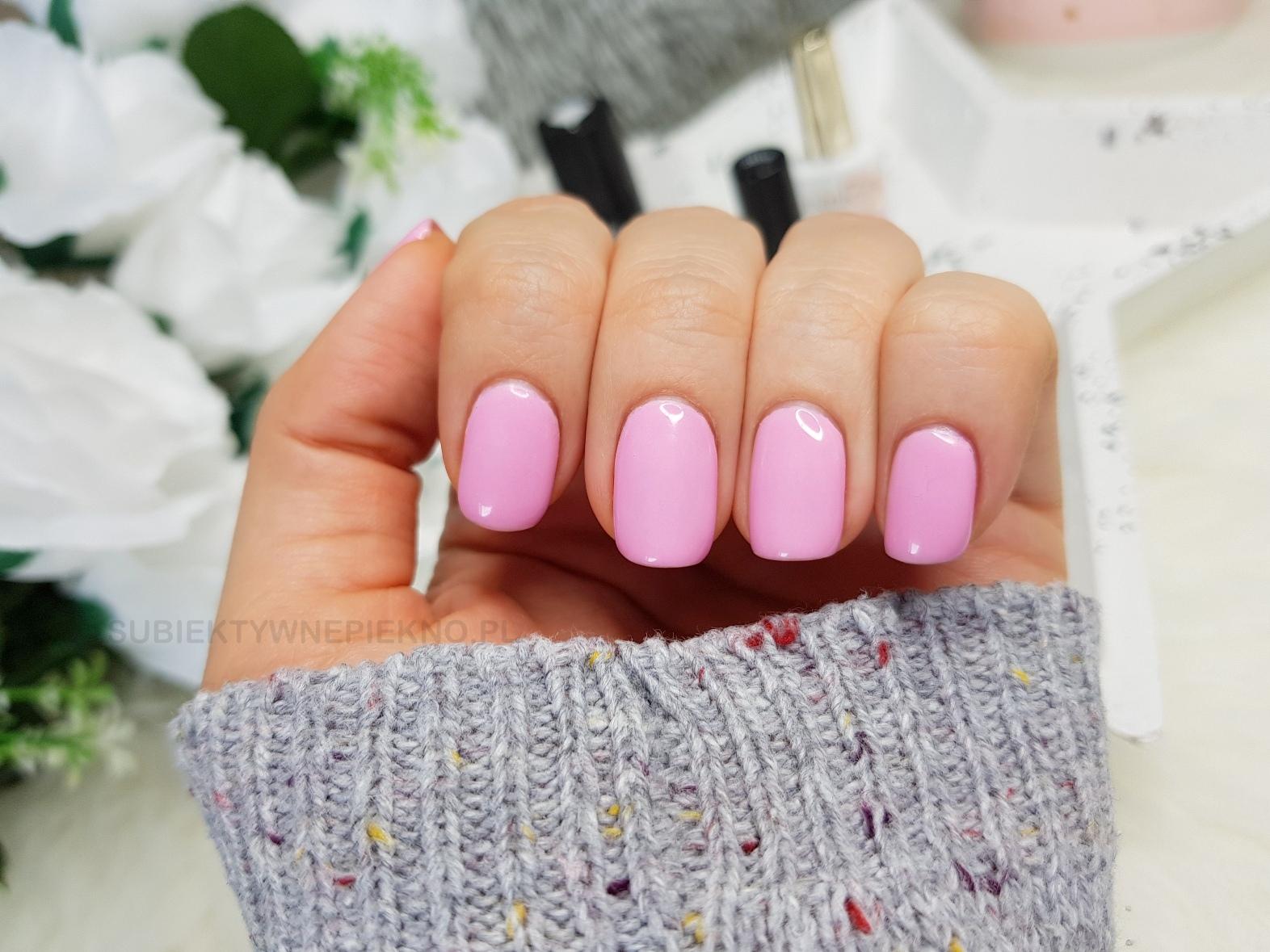 Termiczny lakier hybrydowy Color It Premium 2610 swatche na paznokciach, opinie