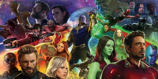 Melhores Filmes de 2018 Avengers Infinity War