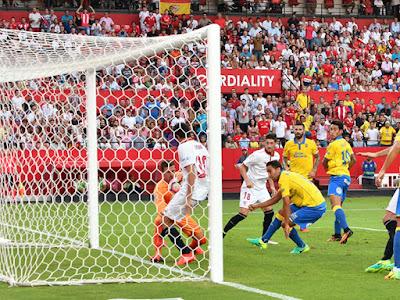 Crónica Sevilla FC 2 - UD Las Palmas 1