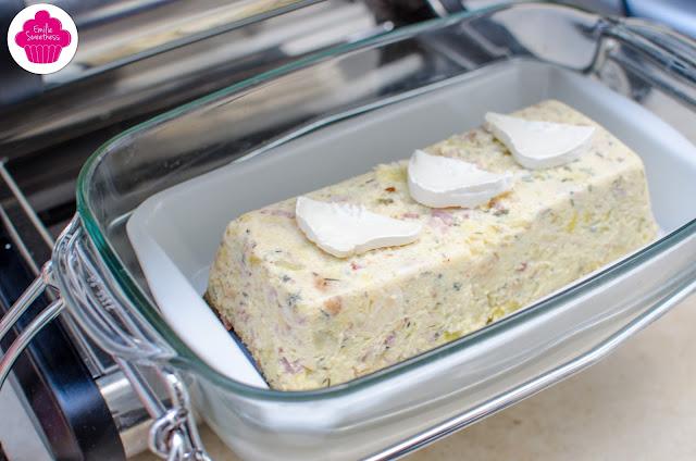 Flan de courgettes lardons chèvre - cuisson à l'Omnicuiseur ou au four