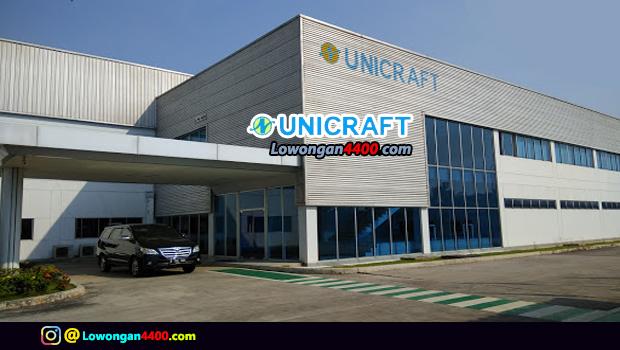 Lowongan Kerja PT. Unicraft Nagura Indonesia Cikarang Terbaru