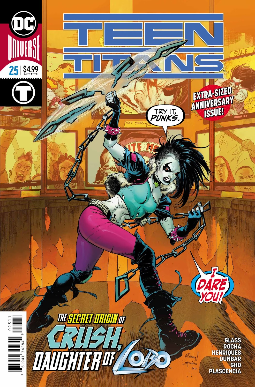 Weird Science DC Comics: Teen Titans #25 Review and **SPOILERS**
