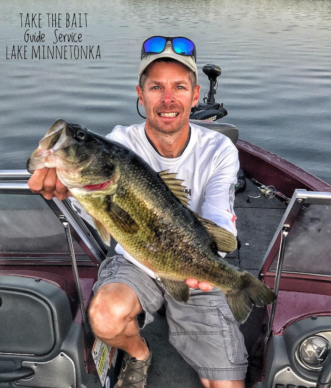 Take the bait guide service llc on lake minnetonka for Lake minnetonka fishing guide