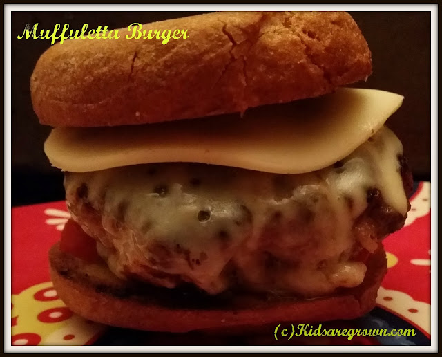 Muffuletta Burger