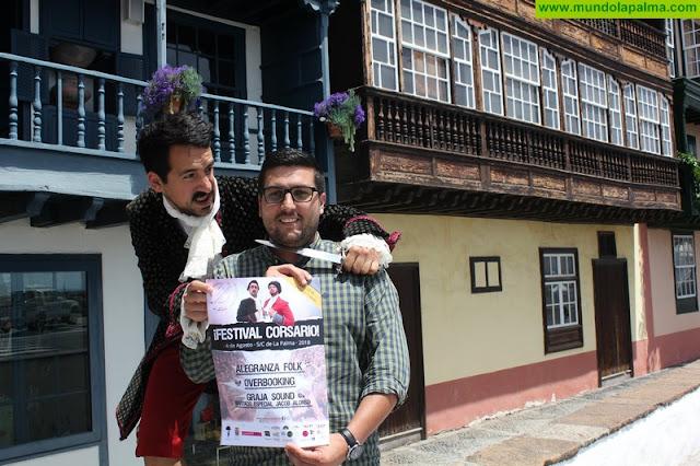 El Ayuntamiento programa las actuaciones de Alegranza Folk, Overbooking y Graja Sound como protagonistas del Festival Corsario