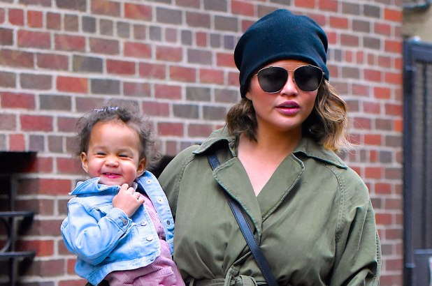 Chrissy Teigen says daughter Luna is 'obsessed' with manicures