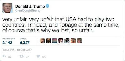 Donald Trump's Tweet