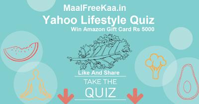 Yahoo Quiz Contest