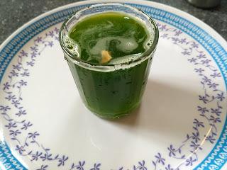 Blacknightshade (Manathakkali keerai) Juice