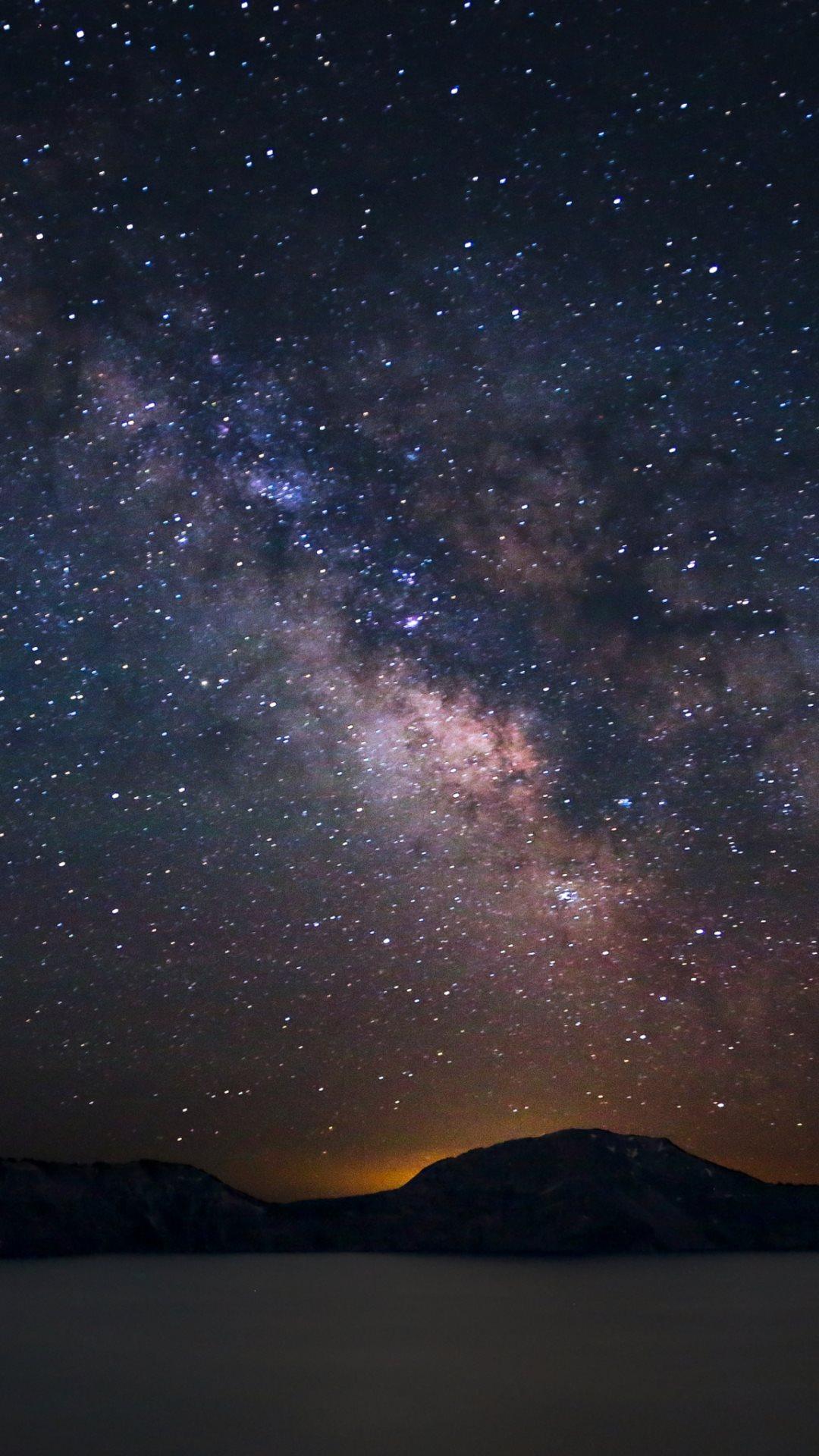 denser in middle night sky milky way galaxy - photo #6