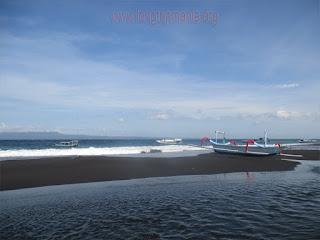 Tempat Wisata Pantai Kampung Kusamba Klungkung Bali