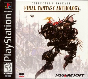 Imagem Final-Fantasy Anthology Collection PS1, PS2, Jogo S V