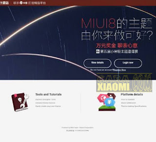 Cara Daftar Akun MIUI Designer Untuk Atasi Error Ganti Tema Offline Xiaomi