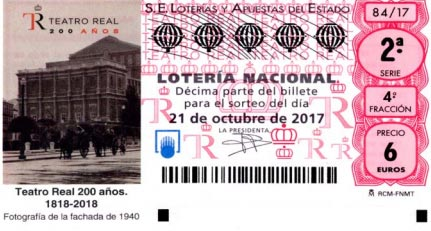 loteria nacional sabado 21 de octubre de 2017