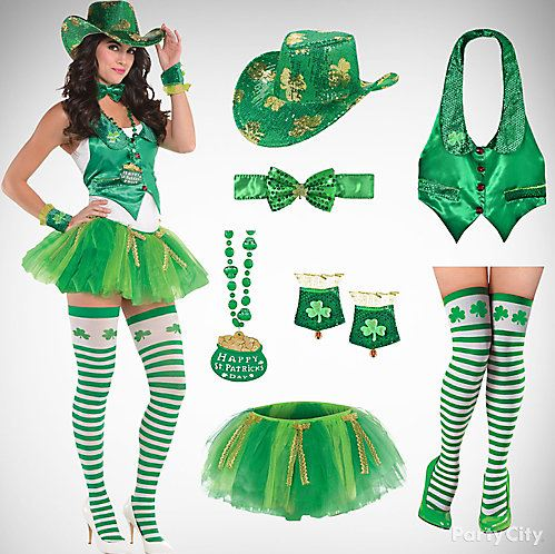 7757a3330c3b3 St. Patrick's Day Party Costumes, Outfit Ideas | Fancy Dress ...
