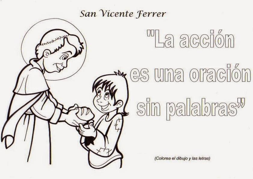 San Antonio En Dibujos Animados: El Rincón De Las Melli: Pensamiento De San Vicente Ferrer