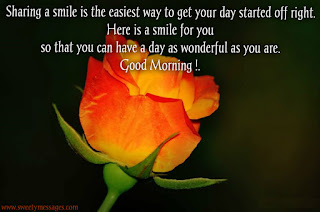 good morning smile messages