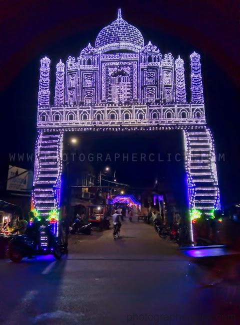 কাজীপাড়া,ঈদ আলোকসজ্জা ২০১৯ Barasat Kazipara Eid 2019