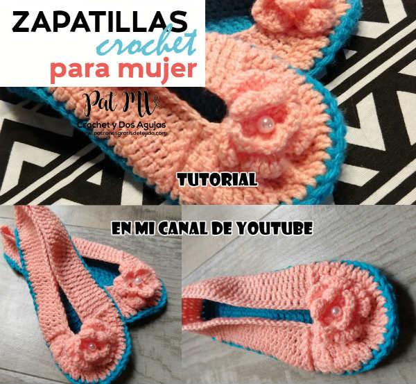 como-tejer-zapatillas-crochet-paso-a-paso