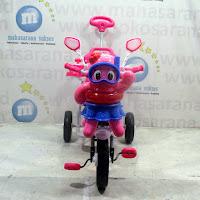 family jelly fish sepeda roda tiga boncengan
