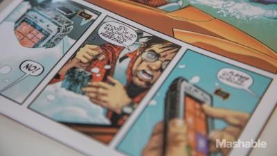 Iklan Panasonic Toughpad Rilis dalam Bentuk Komik